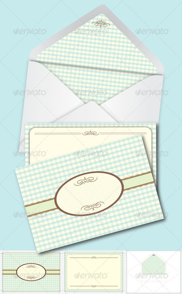 Card and Envelope - Weddings Cards & Invites