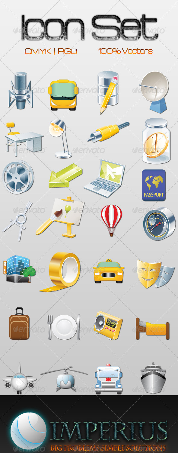 Icon Set - Business Conceptual