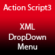 DropDown Menu AS3 XML - ActiveDen Item for Sale