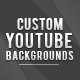 Geometric YouTube Channel backgrounds - GraphicRiver Item for Sale