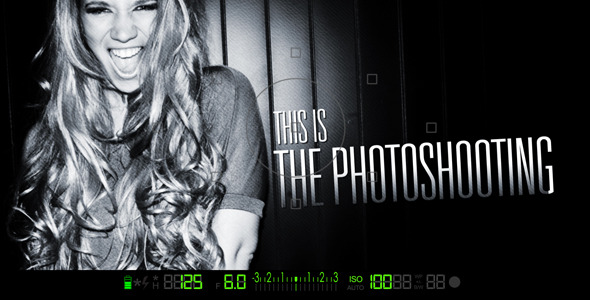 After Effects Project - VideoHive The Photoshooting Opener 2474134