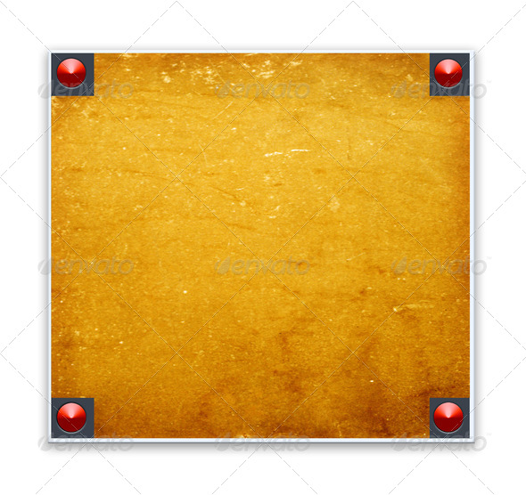 Metallic border - Stock Photo - Images