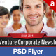 Corporate PSD Flyer Template - GraphicRiver Item for Sale
