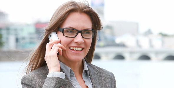 [VideoHive 2475567] Business On The Phone | Stock Footage