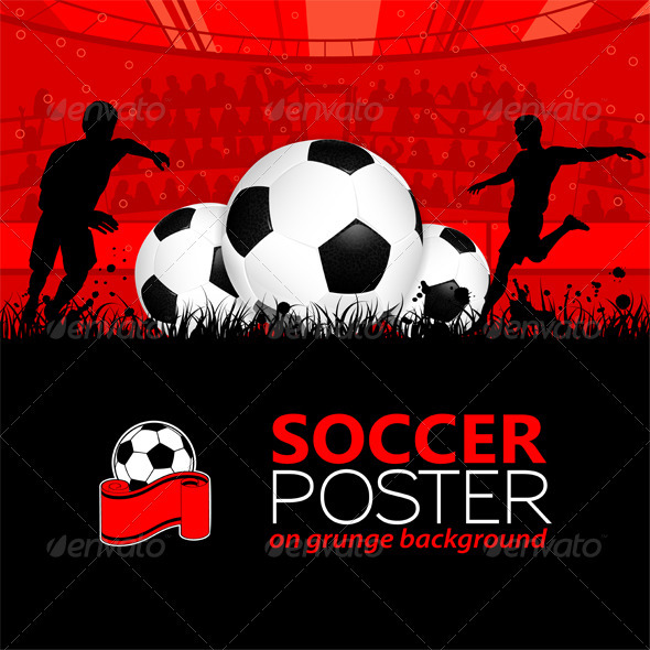 GraphicRiver Soccer Poster 2475711