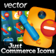 Just Commerce Icons - GraphicRiver Item for Sale