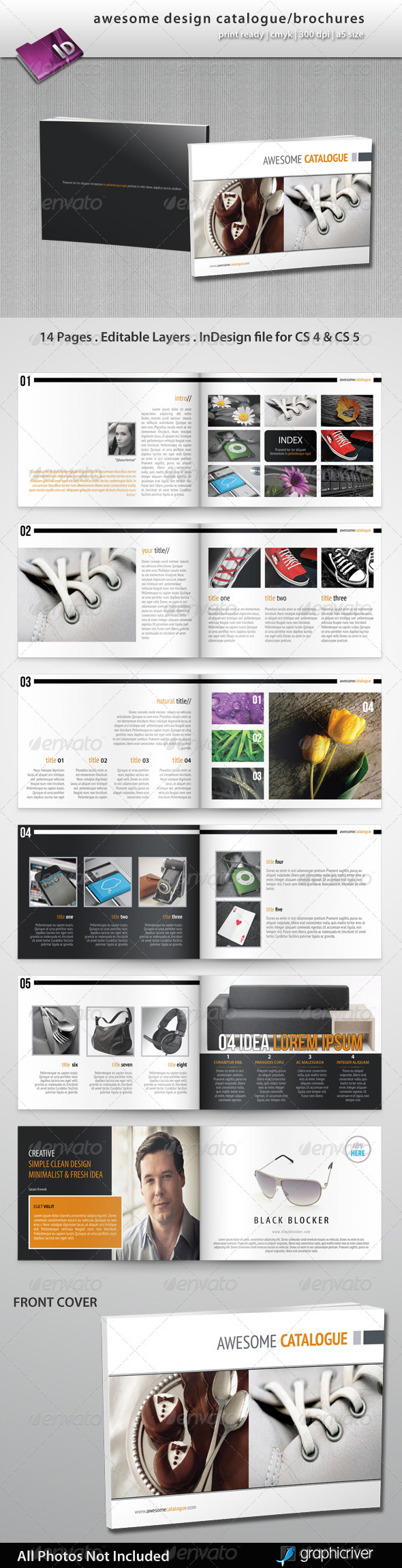 Awesome Design Catalogue/Brochures - Catalogs Brochures
