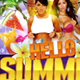 Hello Summer Party Flyer Template - GraphicRiver Item for Sale