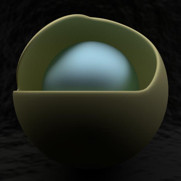 3DOcean Spheres 2481101