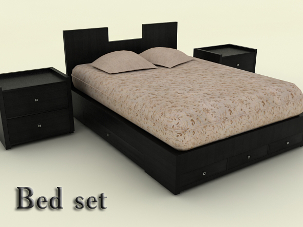 3DOcean Bed set 90856
