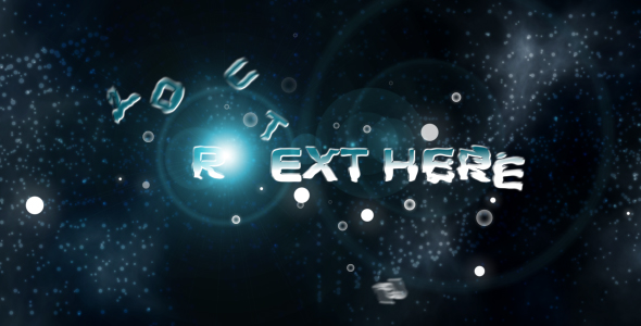 After Effects Project - VideoHive Ice Cool Text Animation 90885
