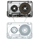 Vector Compact Cassette - GraphicRiver Item for Sale