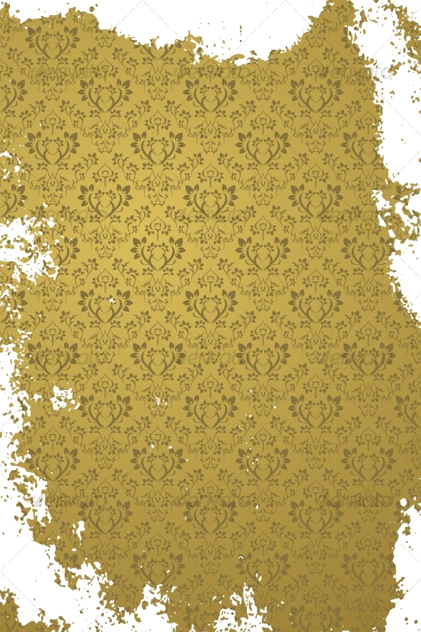 Grunge gold background - Backgrounds Decorative