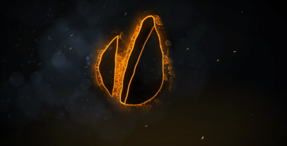 After Effects Project - VideoHive Logo on fire 2485050