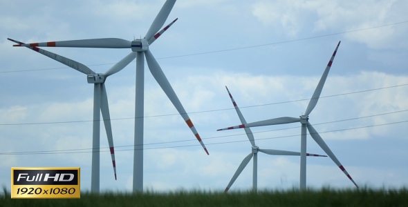 VideoHive Wind Farm 2485263