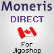 Moneris Direktang CA Gateway para Jigoshop