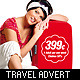 Holidays & Travel Advert / Poster - GraphicRiver Item for Sale