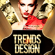 Trends & Design Flyer Templ-Graphicriver中文最全的素材分享平台