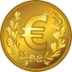 Vector Gold Money Euro Coin - GraphicRiver Item for Sale