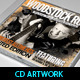 Woodstock Rock Compilation CD Artwork PSD - GraphicRiver Item for Sale