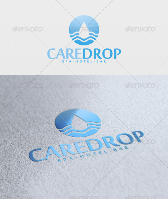 Care Drop Logo - Nature Logo Templates