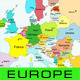 European Map - GraphicRiver Item for Sale