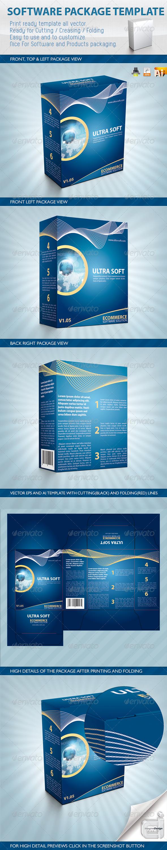 Software Package Template 设计素材下载