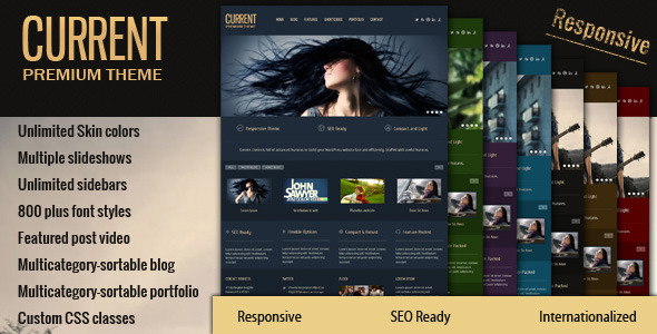 Current WordPress Theme
