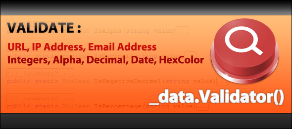 CodeCanyon Data Validation for NET 91113