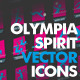 Olympia Spirit Sport Vector Icons - GraphicRiver Item for Sale
