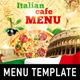 Italian menu template 手册-Graphicriver中文最全的素材分享平台
