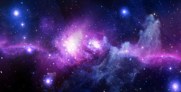 VideoHive Space Flight Cosmic Nebula 2502637
