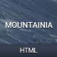 Mountainia Theme HTML - ThemeForest Item for Sale
