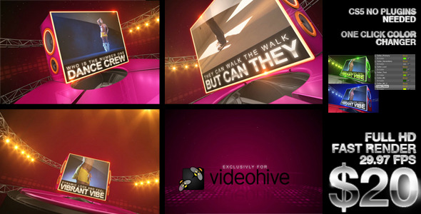 After Effects Project - VideoHive Dance Madness 2486893