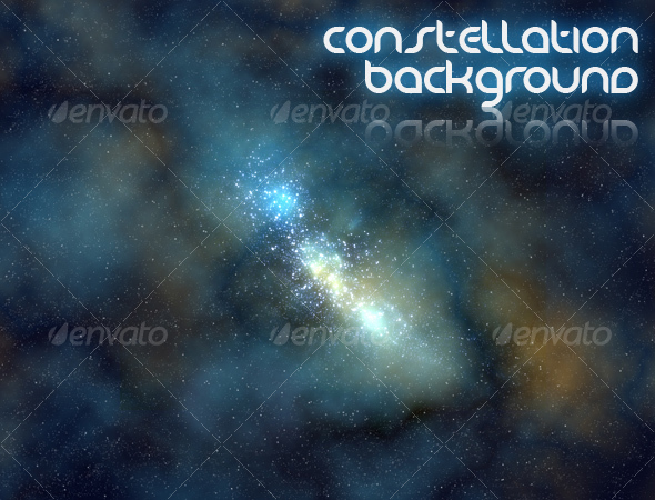 GraphicRiver Constellation Background 91471