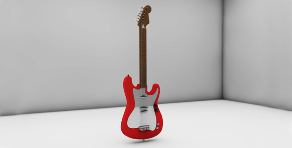 Electric Guitar - 3DOcean Item for Sale
