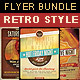 Retro Style Flyer Bundle 3 - GraphicRiver Item for Sale