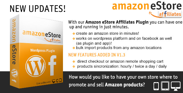 CodeCanyon Amazon eStore Affiliates Plugin 2388006