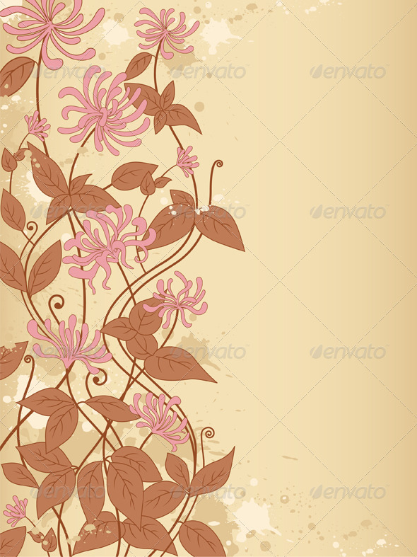 Background with Flowers - Backgrounds Decorative