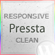 Pressta - Responsive Minimalistic Wordpress Theme - ThemeForest Item for Sale