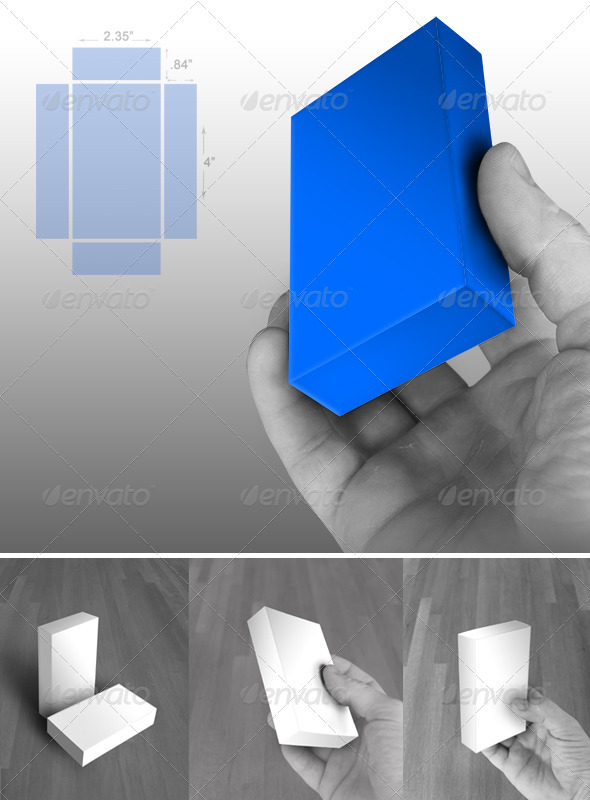 GraphicRiver Small Box Mock Up 2509195