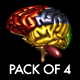 Brain FX - Pack Of 4 Loops - VideoHive Item for Sale