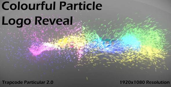 After Effects Project - VideoHive Colourful Particle Logo Reveal 91541