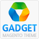 Gadget Magento Theme - ThemeForest Item for Sale