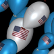 USA Balloons - Pack Of 3 Transitions - VideoHive Item for Sale