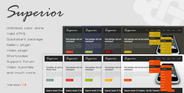Superior - Business Joomla Template