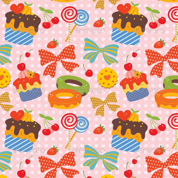 GraphicRiver Sweet Pattern 2515052