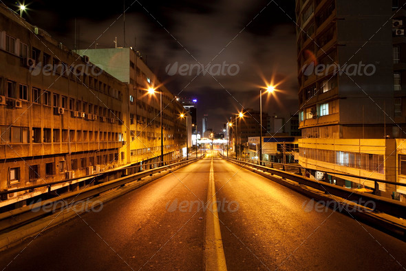 Dark Road - Stock Photo - Images