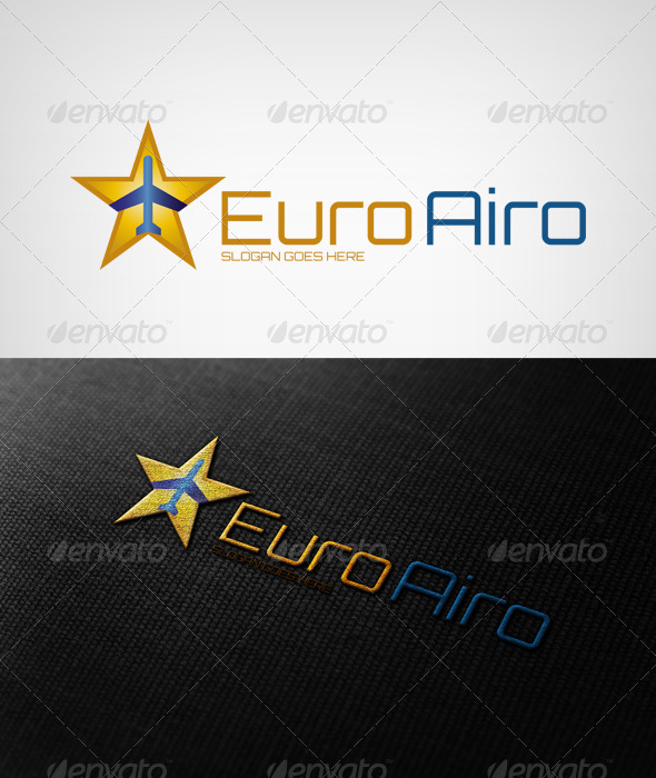 Euroairo - Objects Logo Templates