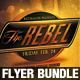 The Rebel Flyer Bundle - GraphicRiver Item for Sale